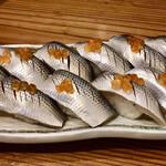 大衆酒場 ゑびす - コハダにぎり寿司(10カン)