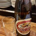 大衆酒場 ゑびす - 瓶ビール(大瓶)