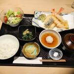 てんぷら 木坂 - 天ぷら御膳1500円