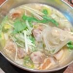 1985年創業 苫小牧老舗焼肉 金剛園 - 青唐辛子温麺