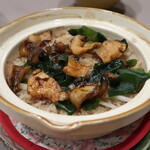 Chimatsushima - 赤西貝の炊き込みご飯