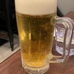 重慶厨房 - 生ビール