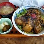 かき処 海 - 牡蠣どんぶり
