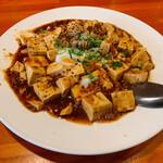 台湾家庭料理 黄さんの家 - 白子入り麻婆豆腐