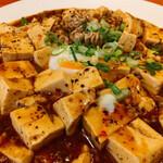 台湾家庭料理 黄さんの家 - 白子入り麻婆豆腐(アップ)