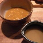 14343428 - 最後は割スープで