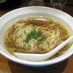 夜な夜な - 料理写真:椎茸支那そば850円
