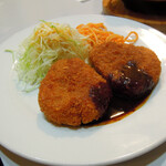 レストラン三幸 - カニコロッケ650円