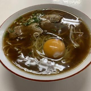 いのたに - 料理写真:中華そば(中)ヾ(*′?`*)?¥600円+玉子¥50円