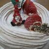 h.m.c - 料理写真:いちごのクリスマスケーキ Sサイズ