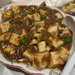 らいらい - 麻婆豆腐 甘さを感じるあたりが南九州。本格中華と違うあたりに惹かれてしまう