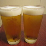 濱喜久 - 2020年の「生ビール」770円×2