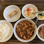 チャイニーズレストラン大幸 - 陳麻婆豆腐セット