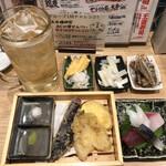鮨・酒・肴 杉玉 - 杉玉ドリンクセット
