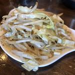 麺屋 茅根 - 野菜炒め 200円