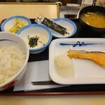 松屋 - 鮭定食