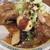 桂花ラーメン - マー油多めの太肉麺 凶暴なビジュアル