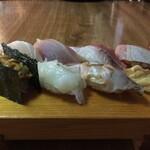 いろは寿司 - 料理写真:上にぎり