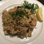 アジアンビストロ Dai - 日替りアジアンランチは、豚肉とパイナップルの炒飯