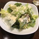 アジアンビストロ Dai - ランチのサラダ