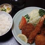 とんかつ 井泉 - 「お好み定食」1650円