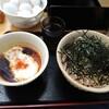 肉そば こまつ家 - 料理写真:とろろ肉蕎麦(中)(冷)。