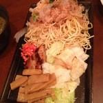 ホナセンダイ - 焼きそばつけ麺の麺