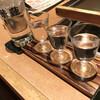 華蓮 - ドリンク写真:魔王、村尾、森伊蔵の飲み比べセット