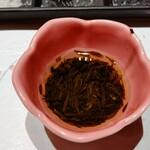 天麩羅 おばた - ぎばさ酢の物