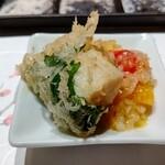 天麩羅 おばた - 帆立の玉葱ソース