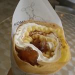 モミアンドトイズ - りんごとシナモンのクレープ(¥450-)