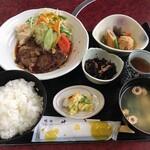 民宿&和風グリル瀬戸 - 料理写真:能登牛てりやき定食