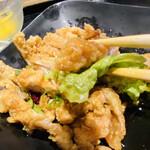 外灘紅緑灯 - 油淋鶏 なかなかタロウ好み でも もう少しカラッて揚がってたら もっと好み