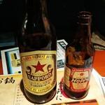 143488502 - 札幌赤星中瓶と、珍しいホッピーの赤