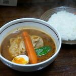 スープカレーわたなべ - 料理写真:チキンスープカレー