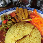 月桃食堂 - 副菜、青唐辛子のピクルス
