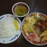 龍ちゃん - 中華定食