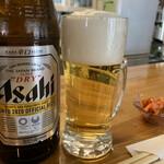 カフェ ニコ - 瓶ビール550円