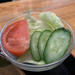 カフェ ニコ - 日替ランチ720円につくサラダ