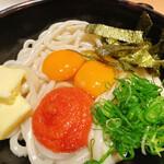 Niwakayachousuke - 明太釜玉うどん大(前1050円)