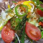 割烹 ふか川 - 料理写真:サラダ