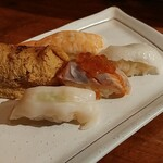 魚寿司 - にぎりの図