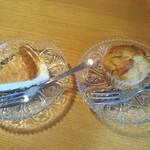 発酵食堂 ろじうら - 甘酒チーズケーキとマフィン