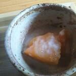 発酵食堂 ろじうら - 小鉢 塩麹の柿