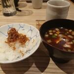 四季彩ダイニング 春 - ちりめん山椒ご飯