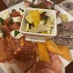 La Coccinella - 前菜盛り合わせ