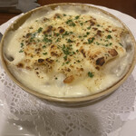 La Coccinella - 帆立貝とリガトーニのグラタン