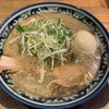 麺屋 八海山 - 料理写真:味玉入り煮干しそば 950円