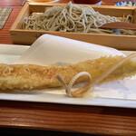 蕎麦切り 旗幟 - 天せいろ(穴子)