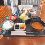 海鮮 日本酒 ほっこり - 国産本まぐろと天ぷら御膳
